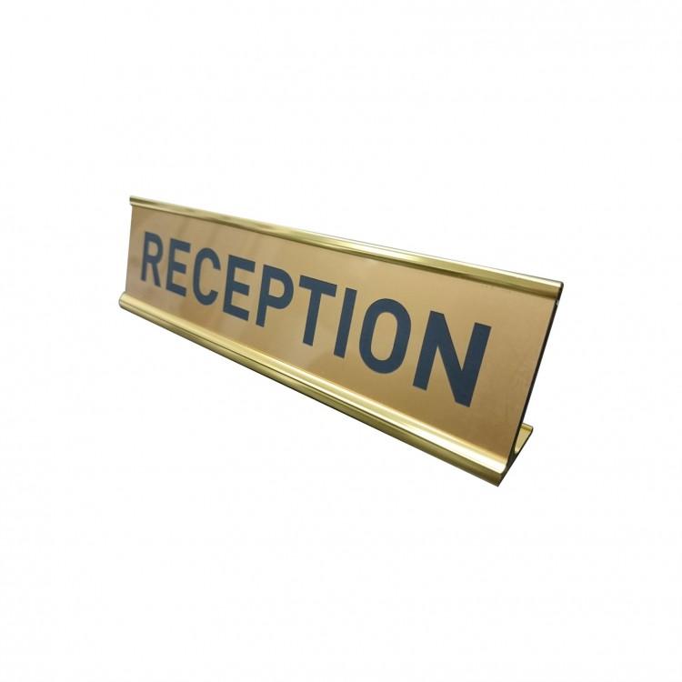 Desk Sign 2in x 8in