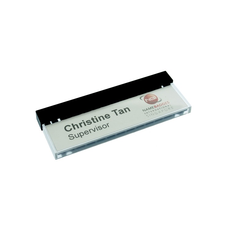 Name Badge Select 8505 With Magnet 67x17mm